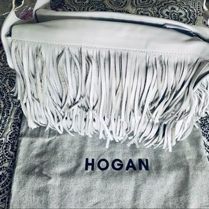 🎉HP🎉NWOT Vintage Hogan Fringed Handbag